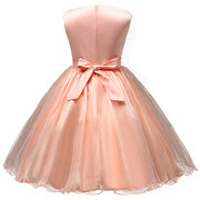 Sequins Tulle Girl Party Pageant Dress Kids/Children Dresses for Wedding