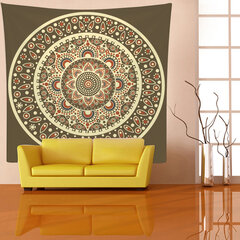 Indian Mandala Bohemian Geometrical Tapestry Wall Hanging Arazzo Home Living Room Art Decor