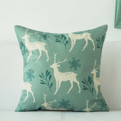 Nordic Concise Style Cushion Cover Home Decoration Green White Color 18