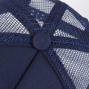 Lettre unisexe une casquette incurvée de protection contre le soleil de baseball respirant de maille