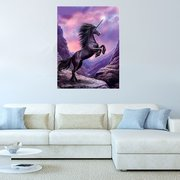 Unicorn DIY Full 5D Diamond Painting Living Room Home Wall Art Hanging Painting Gift