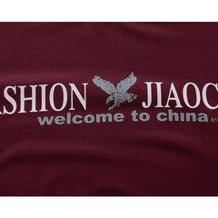 T-shirt a maniche lunghe casual da uomo T-shirt a maniche lunghe con stampa autunno / inverno 5 colori