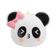 Panda Face Head Squishy Slow Rising With Packaging Collection Gift Soft Toy