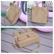 Women Casual Canvas Lightweight Handbag Shoulder Bags Crossbody Bags