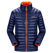 Winter Outdoor Casual Verdicken Windproof Solid Color Padded Jacket für Männer