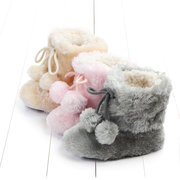 Fleece Warm Baby Girls Boys Winter Botas de 0 a 18 meses