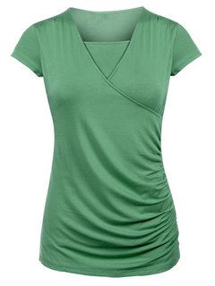 Front Open Maternity Functional Nursing Tops