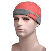 Cappello tondo con cappuccio regolabile in cotone solido unisex Vogue