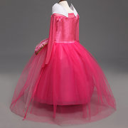 Girls Princess Cosplay Costume Halloween Party Dress Clothes For 4Y-13Y