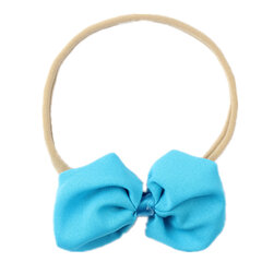 14 Colors Baby Headband Bowknot Elastic Hair Bands For 0-5 Years