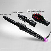 3 In 1 Electric Hair Straightener Curler Set Personal Hair Styling Tools Curling Straight Hair Comb