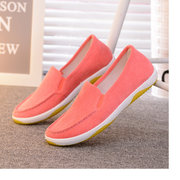 Women Casual Lightweight Suede Slip On Flat Loafers