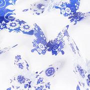 12Pcs / lot зеркало 3D бабочки стены стикеры партии свадебный декор DIY украшения для детей номера