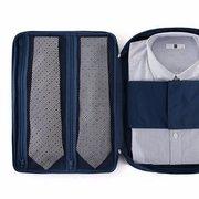 Organisateur de valise de voyage sac de rangement de chemise chemise cravate sac à main pochette portable