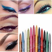 12 Colors Makeup Eye Shadow Eyeliner Lip Liner Pen Beauty Tool Set