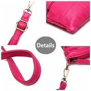 Women Soft PU High-End Crossbody Bag Little Bag Casual Shoulder Bag