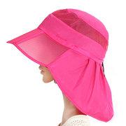 Borda ampla Chapéu da praia do verão dobrar fina esportes ao ar livre Chapéu pala de sol respirável para mulheres