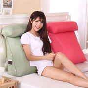 Dreieckige Rückenlehne Kissen für Sofa Kissen für Bett Thick Corduroy Kissen Rücken Support