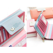 Multi-function Faux Leather Long Pure Phone Wallet For Women