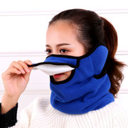 3 in 1 Unisex Warm Warm Mask Antivento Scaldacollo antipolvere antivento antipioggia per ciclismo