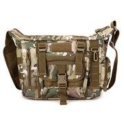 الرجال التكتيكية السفر في الهواء الطلق حقيبة كروسبودي حقيبة متعددة الوظائف عارضة حقيبة الكتف