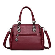 Women Stitching Large Capacity Handbags Leisure Crossbody Bags