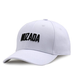 NUZADA Summer Cotton Embroidery Baseball Cap For Men Women Couple Hats 5 Color Snapback Caps
