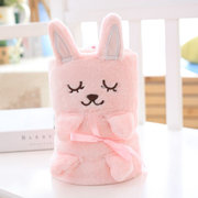 Cute Animal Shaped Baby Foldable Robe For 0-24M