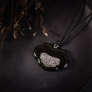 مجوهرات العرقية اليدوية العتيقة الفضة زهرة الخشب قلادة القلائد ريترو قابل للتعديل قلادات طويلة