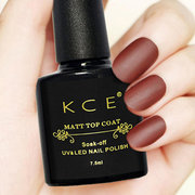 Matte Nail Gel Top Coat Long-Lasting Nail Gel Polish Finished Matte Effect DIY Nail Art