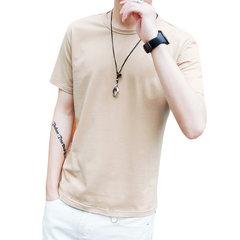 Saison Nouveaux dégagements pour hommes Chemise à encolure arrondie à manches courtes pour homme, T-shirt confortable