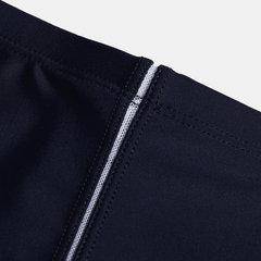Ligne de drainage arrière pour hommes, maillot de bain uni, à séchage rapide