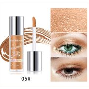 Glitter Liquid Eyeshadow Highlighter Sombra de olhos impermeável Make Up Cosmetics