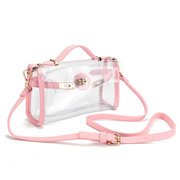 Women Transparent Crossbody Bags Clear Shoulder Bags