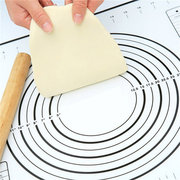 Kitchen Silicon Fiberglass Rolling Dough Sheet Cake Pastry Cake Oven Pad Mat Pasta Cooking Tools