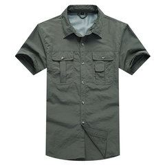 Quickly Dry Breathable Sunscreen Outdoor Shirts for Men