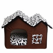Портативный роскошный котенок для домашних животных Cat Bed House Warm Mat Snug Puppy Bedding Home Soft