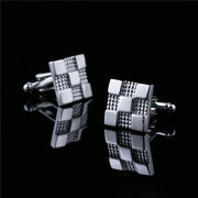 Mens Vintage Vogue Exquisite Metal Carte Shirt Cufflinks Tie Clips For Wedding Bussiness Gift