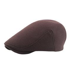 Chapeau de béret tricoté chaud pour hommes, hiver épaisse