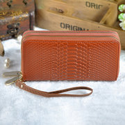 Faux Leather Multi-function Long Wallet Purse Phone Bag For Women