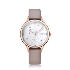 أزياء المرأة العصرية ووتش للماء ووتش جلدية كوارتز ساعة مستديرة الشكل رقيقة
