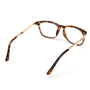 Women Men Retro Eyeglass Frame Full-Rim Glasses Clear Lens Metal Designer
