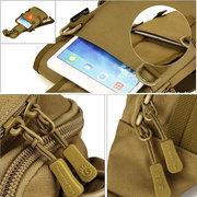 Hommes Femmes Outdoor Tactical Shoulder Bag Double utilisation Sports Randonnée Sac multifonction