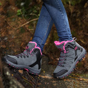 Warm Lace Up Outdoor Hiking Shoes