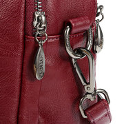 Vintage Soft Faux Leather High-end Handbags Multi-slots Solid Crossbody Bags