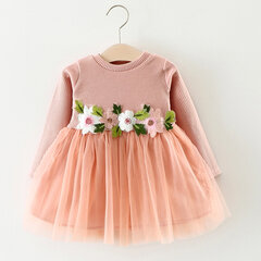 Flower Princess Girl Dresses Outfit For 6-36M