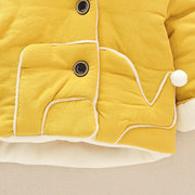 Cute Design Kids Baby Warm Winter Coat For 0-2 Years