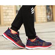 DELOCRD Big Taglia Uomo Donna Amante Colore Match Traspirante Lace Up Sport outdoor Running Sneakers