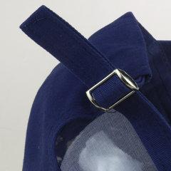 Cappello da sole all'aperto lavato del berretto da baseball del denim del diamante della bandiera americana unisex