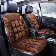 Universal Size Winter Thicken Short Plush Car Seat Cover Mat Sost Warm Seat Cushion Mat